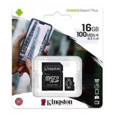 Cartão Micro SD 16Gb Class 10 Kingston