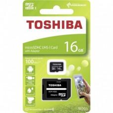 Cartão Micro SD 16Gb Class 10 Toshiba