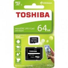 Cartão Micro SD 64Gb Class 10 Toshiba