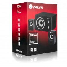 Colunas NGS SUGAR 2.1 de 20W USB Powered