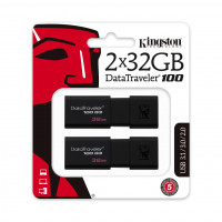 Pendrive Kingston 2x 32GB 100 G3 USB 3.0