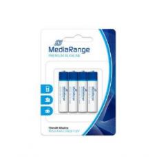 Pilhas Alcalinas MediaRange LR3 (AAA) - Pack 4