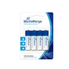 Pilhas Alcalinas MediaRange LR6 (AA) - Pack 4