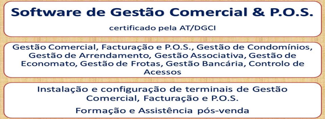 Software de Gestão Comercial, Facturação & P.O.S.