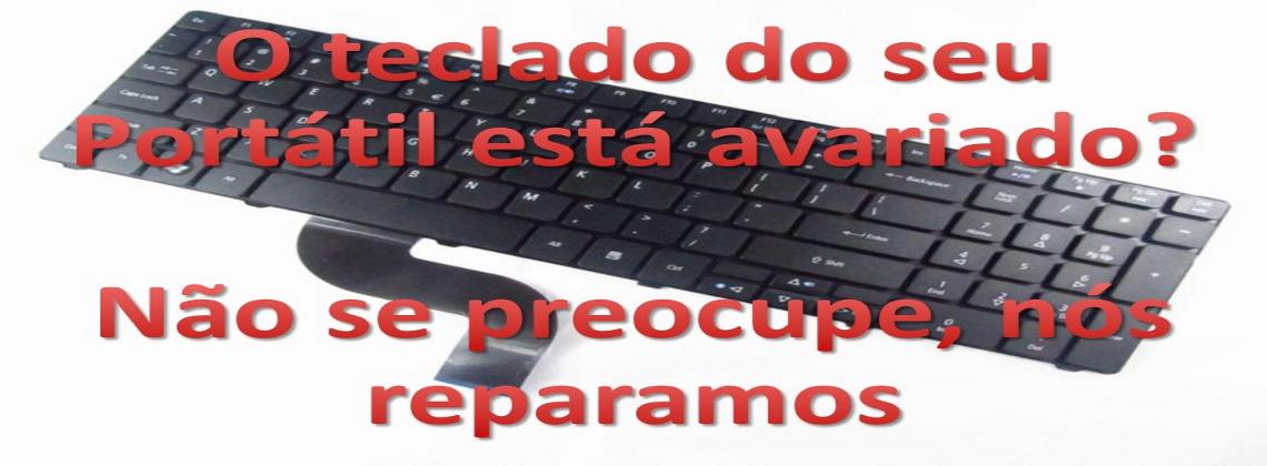 Substituição de teclado
