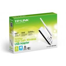 Placa de rede 150Mbit High Gain Wireless N USB Adapter (TL-WN722N)