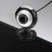Webcam 16Mp HD Camera com Microfone